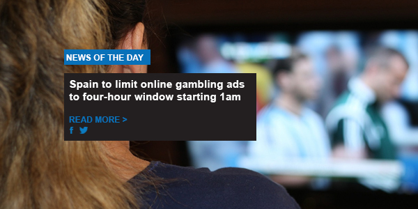 Spain to limit online gambling ads to four-hour window starting 1am